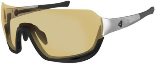 Ryders Roam Fyre White-Black/ Yellow-Brown Lens Anti-Fog Gold MLV