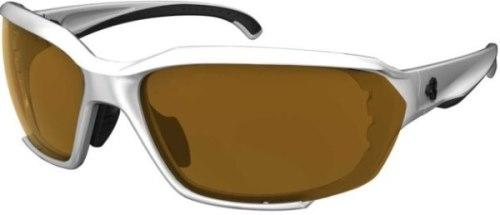 Ryders Rockwork Anti-Fog Glasses White-Black / Brown Lens Anti-fog