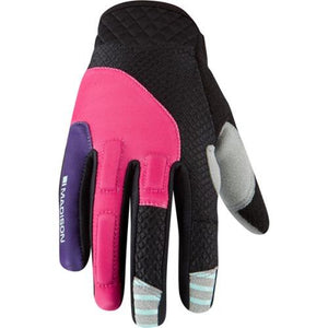 Madison Zena Womens Rose Red/Imperial Purple Glove Front