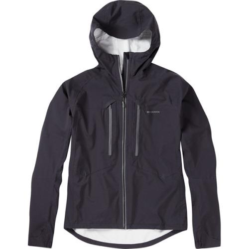 Madison Zenith Mens Waterproof Black Jacket Front