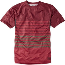 Load image into Gallery viewer, Madison Roam Mens Red/Red Short Sleeve Jersey Front