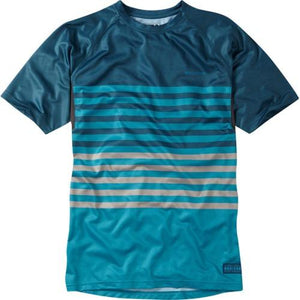 Madison Roam Mens Blue/Blue Short Sleeve Jersey Front