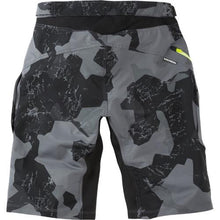 Load image into Gallery viewer, Madison Zenith Grey Camo Mens Shorts Rear