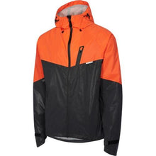 Load image into Gallery viewer, Madison Stellar Mens Reflective Black/Chilli Red Jacket Front