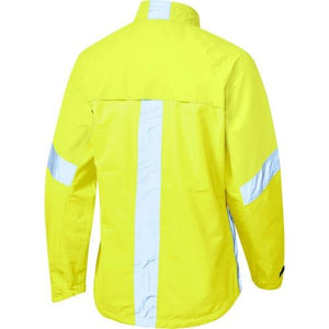 Madison Protec Womens Hi Viz Yellow Jacket Rear