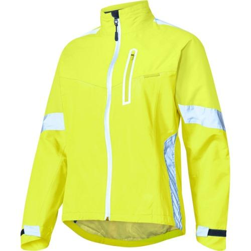 Madison Protec Womens Hi Viz Yellow Jacket Front