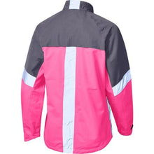 Load image into Gallery viewer, Madison Protec Womens Pink Glo/Dark Shadow Jacket Rear