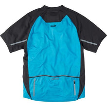 Load image into Gallery viewer, Madison Stellar Mens Short Sleeve Atomic Blue Jersey  Rear