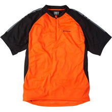 Load image into Gallery viewer, Madison Stellar Mens Short Sleeve Shocking Orange Jersey Front