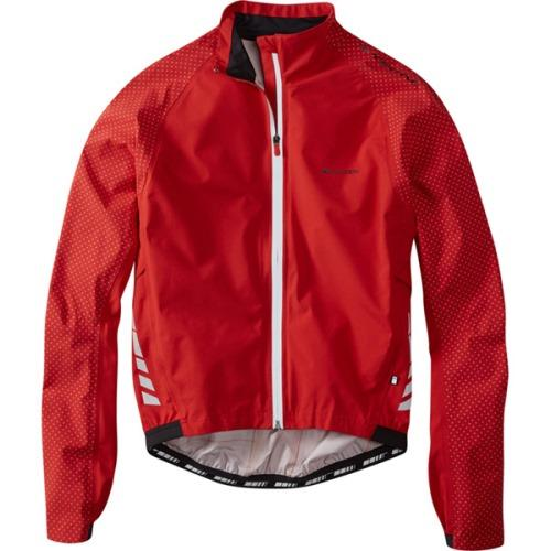 Madison Sportive Hi-Viz Mens Red Jacket Front