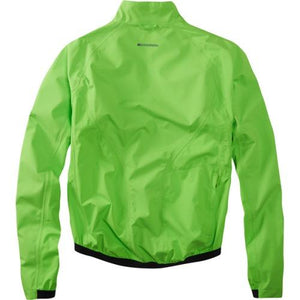 Madison Sportive Hi-Viz Mens Green Jacket Rear