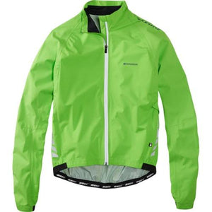 Madison Sportive Hi-Viz Mens Green Jacket Front