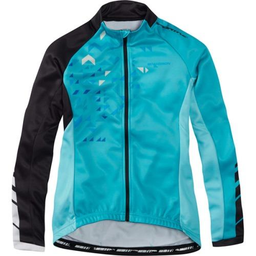 Madison Sportive Womens Long Sleeve Thermal Roubaix Jersey Front
