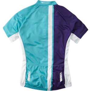 Madison Tour Womens Short Sleeve Jersey Rear