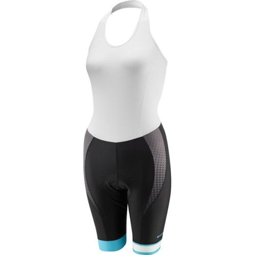 Madison Sportive Womens Halter Neck Bib Short Front