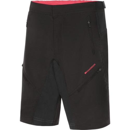 Madison Trail Womens Black Shorts Front