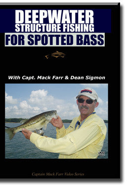 Deepwater Structure Fishing for Spotted Bass DVD