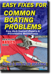 Easy Fixes For Common Boating Problems DVD