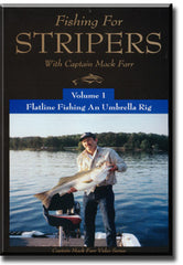 Flatline Fishing an Umbrella Rig for Stripers DVD