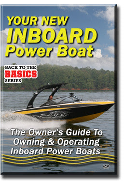 Your New Inboard Power Boat DVD