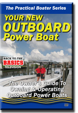 Your New Outboard Power Boat DVD