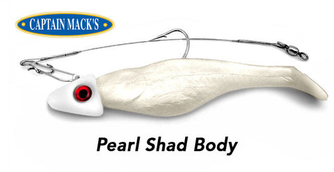 Capt. Mack's U-Rig Swimbait Components