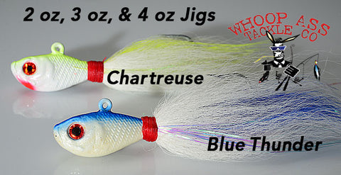 WhoopAss Large Bucktail Jigs
