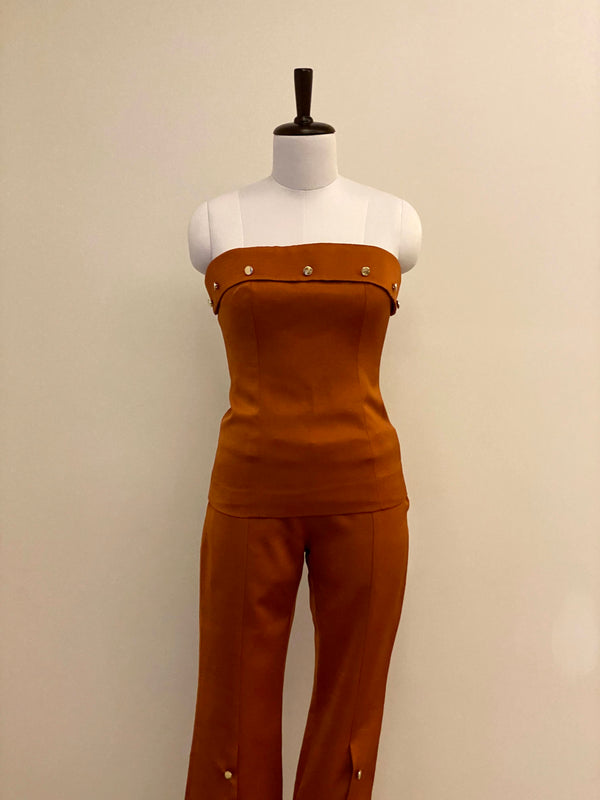 Caramel Color 3pc Co-ord Set