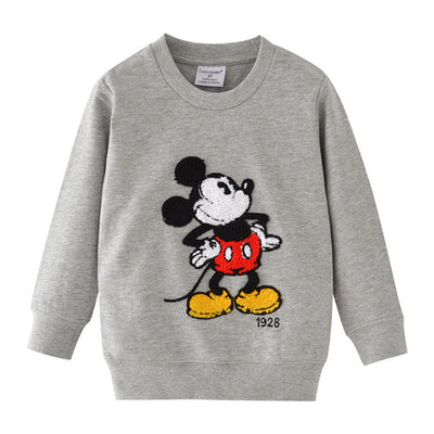 Cartoon Print Winter Clothes Tees for Boys-3kstyle