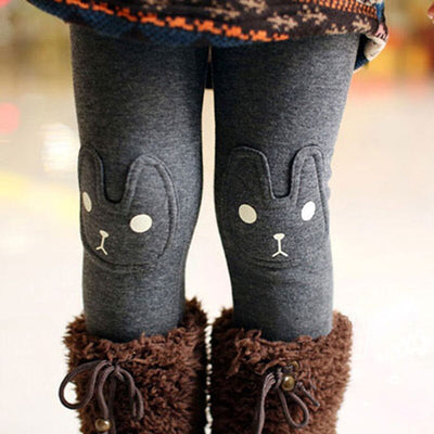 Cute Rabbit Girls Child Pants