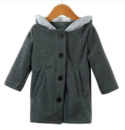 Long Sleeve Rabbit Ear Hooded-3kstyle