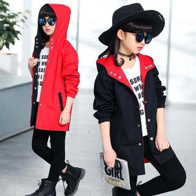 Children autumn outwear teenage jacket-3kstyle