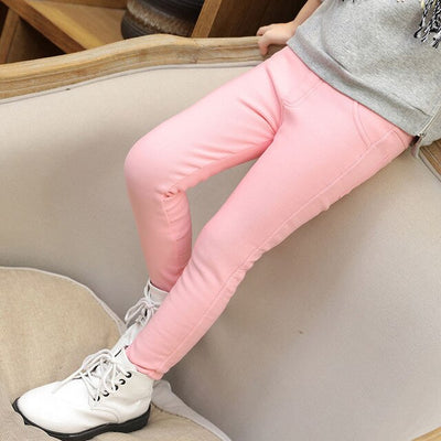 Candy Color Girl Long Pants-3kstyle