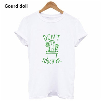 Cactus Printed Girls T-Shirt Cotton-3kstyle