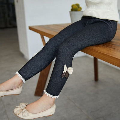 High quality thick warm Jean pants-3kstyle