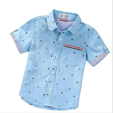 Summer Fashion print Boy's Shirts