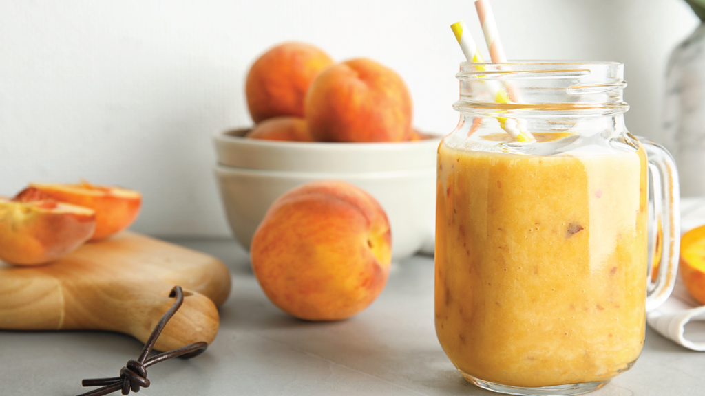 Peach & White Tea Smoothie