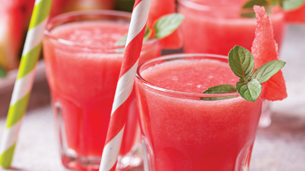 Watermelon & Green Tea Smoothie