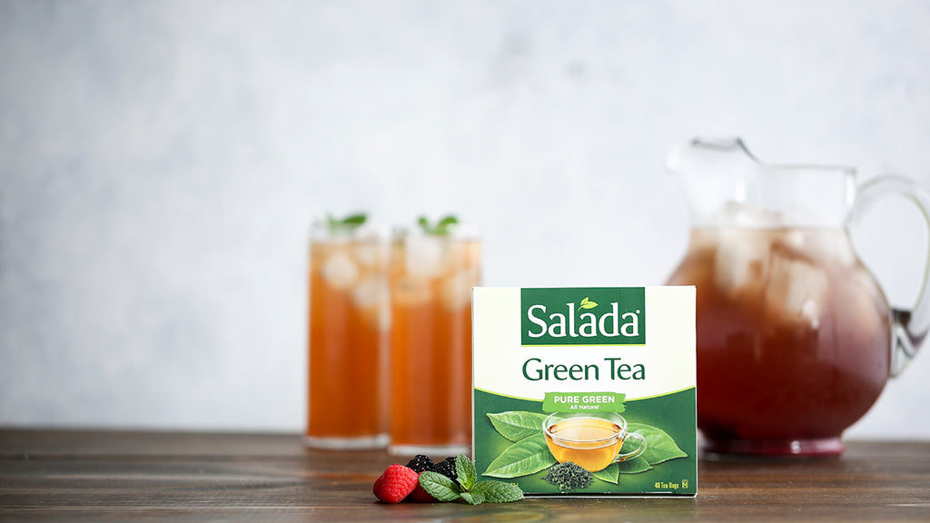 Mixed Berry & Mint Iced Green Tea