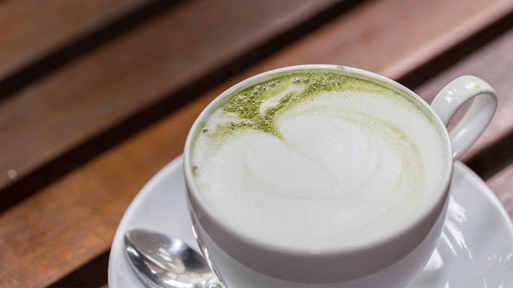 Vanilla Matcha Green Tea Latte