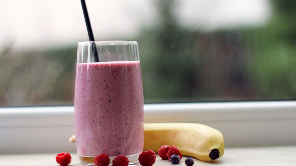 Berry Black Tea Smoothie