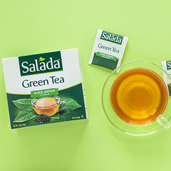 What is in a Green Tea Shot?
