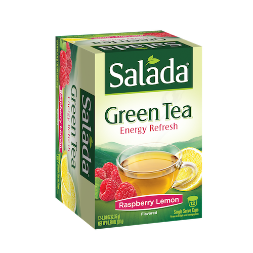 Salada Raspberry Lemon Green Tea Single Serve Cups 12ct