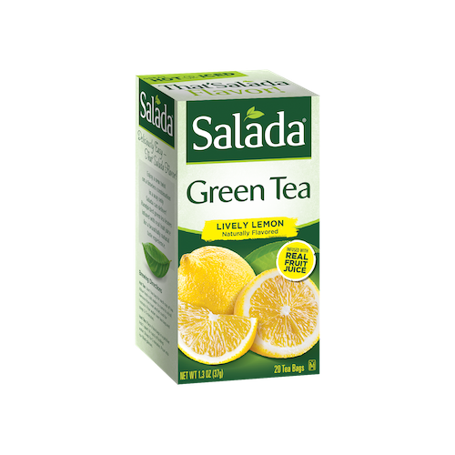Salada Lively Lemon Green Tea 20ct