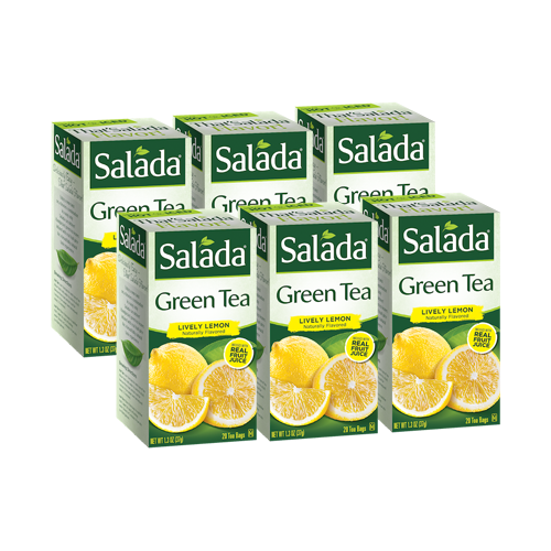 Salada Lively Lemon Green Tea (20 ct)