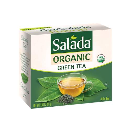 Salada Organic Green Tea 40ct