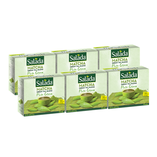 Salada Pure Green Matcha Green Tea Blend (40 ct)