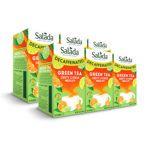 Salada Decaf Citrus Green Tea - 20ct