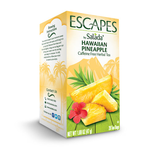 Salada Hawaiian Pineapple Tea - 20ct