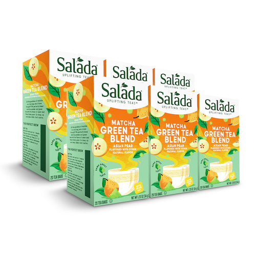 Salada Asian Pear Matcha Green Tea - 20ct